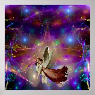 An Angel Awaits Print