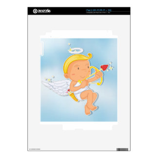 an angel decals for iPad 2