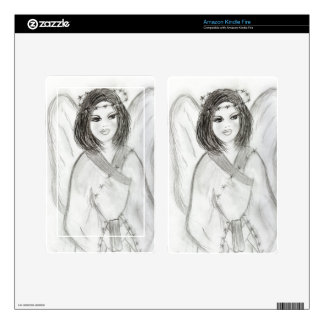 An Angel Decals For Kindle Fire