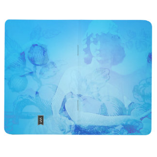 An Angel for Your Thoughts pocket journal in Blue