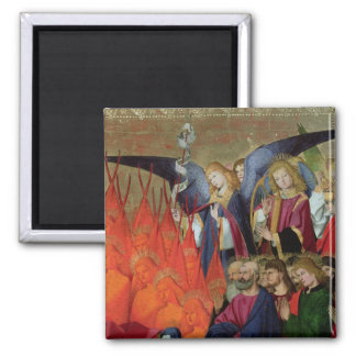 An Angel, from the 'Coronation of the Virgin' 2 Inch Square Magnet