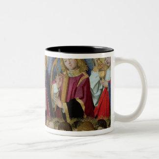 An Angel, from the 'Coronation of the Virgin' Two-Tone Coffee Mug