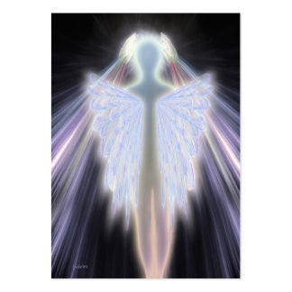 An Angel Gets Her Wings Business Card Template