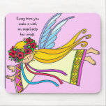 An Angel Gets Her Wings Mouse Mats