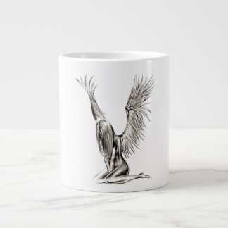 An Angel Giant Coffee Mug