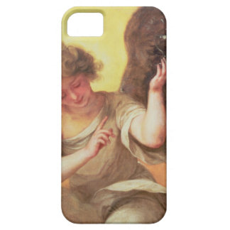 An Angel holding a Glass Flask iPhone SE/5/5s Case
