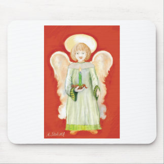 An Angel Mouse Pad