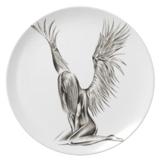 An Angel Party Plates