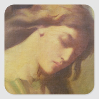 An Angel, study for the Mount of Olives, 1840 Square Sticker