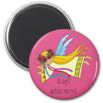 An Angel Watches Over You Magnet