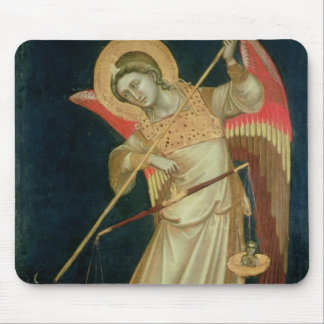 An Angel Weighing a Soul, c.1348-55 Mouse Pad