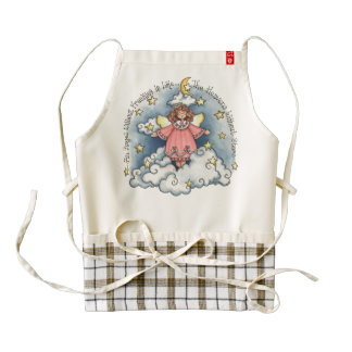 An Angel Without Freckles is Like... Zazzle HEART Apron