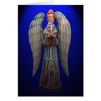 An Angel's Guiding Light Christmas Card