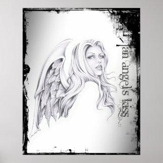"An Angel's Kiss Head Bust 16""x20"" Poster: Chaos"