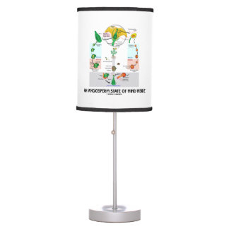 An Angiosperm State Of Mind Inside (Flower) Table Lamp