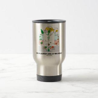An Angiosperm State Of Mind Inside (Flower) Travel Mug
