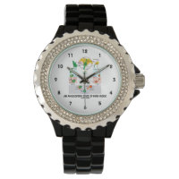An Angiosperm State Of Mind Inside (Flower) Wrist Watches