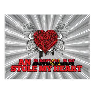 An Angolan Stole my Heart Postcard