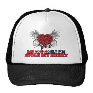 An Anguillan Stole my Heart Hat