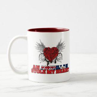 An Anguillan Stole my Heart Coffee Mugs
