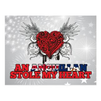 An Anguillan Stole my Heart Postcard