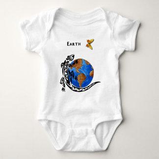 An Animal Earth Baby Bodysuit