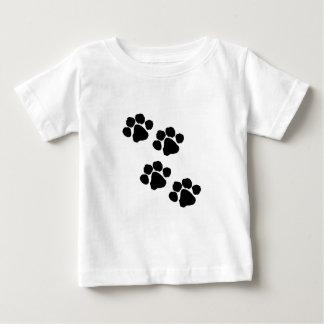 An Animal Paw Prints Baby T-Shirt