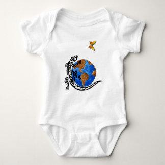 An Animal World Baby Bodysuit