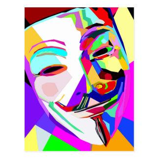 An Anonymous Rainbow Postcard