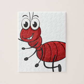 an ant jigsaw puzzle