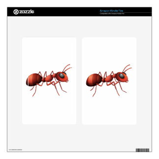 An ant decals for kindle fire