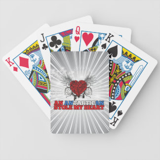 An Antartican Stole my Heart Bicycle Playing Cards