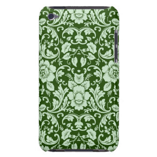 An antique floral damask barely there iPod cover