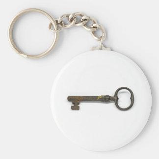 An Antique Key Keychain