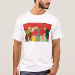 An Anxious Moment, Pool Cue Hitting a Head T-Shirt