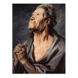 An Apostle by Jacob Jordaens Postcard