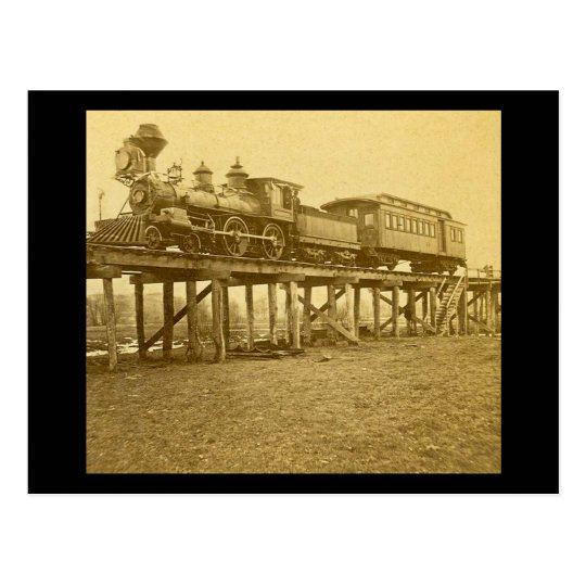 An Appalling Accident at Farmington River Postcard