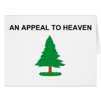 An Appeal To Heaven - 1775 G Washington Naval Flag Card