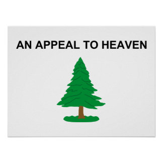An Appeal To Heaven - 1775 G Washington Naval Flag Poster