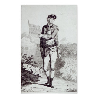 An Appeal to Heaven', a portrait of General Lee Poster