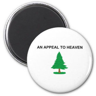 An Appeal To Heaven American Revolution Flag 2 Inch Round Magnet