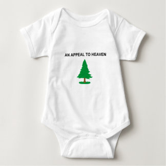 An Appeal To Heaven American Revolution Flag Baby Bodysuit