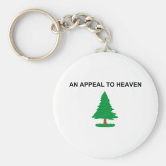 An Appeal To Heaven American Revolution Flag Keychain