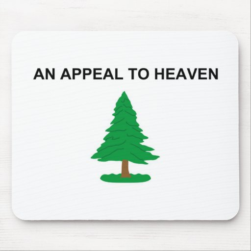 An Appeal To Heaven American Revolution Flag Mouse Pads