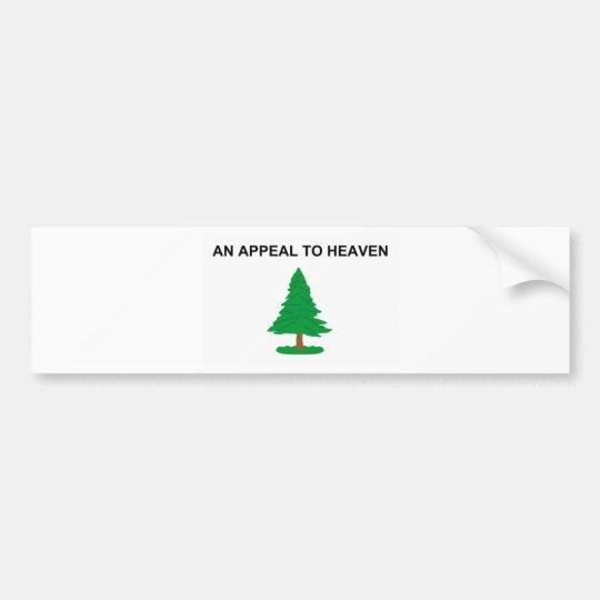 An_Appeal_to_Heaven_Flag Bumper Bumper Sticker