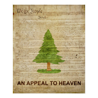 An Appeal to Heaven Flag Poster