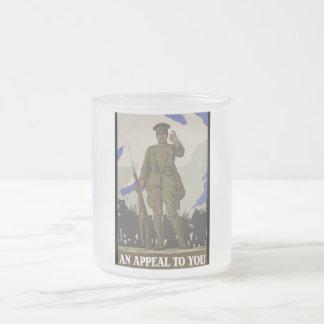 An Appeal To You 10 Oz Frosted Glass Coffee Mug
