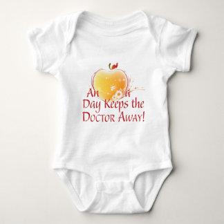 An Apple a Day Baby Bodysuit