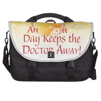 An Apple a Day Bags For Laptop