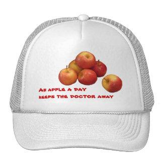 An Apple a Day Mesh Hat